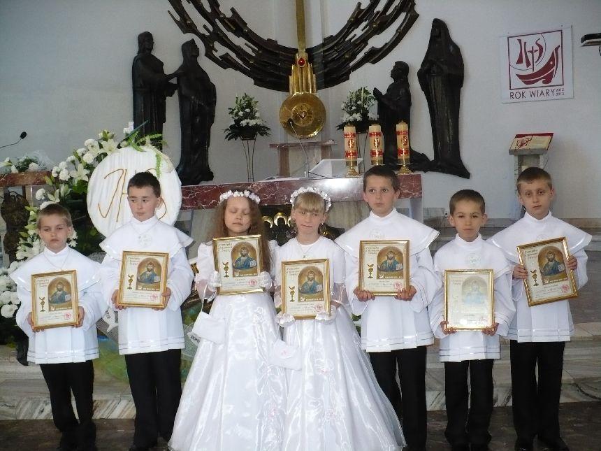 1b485dc989 Pierwsza Komunia św. dzieci z naszej Parafii - Parafia Rudnik-Stróża